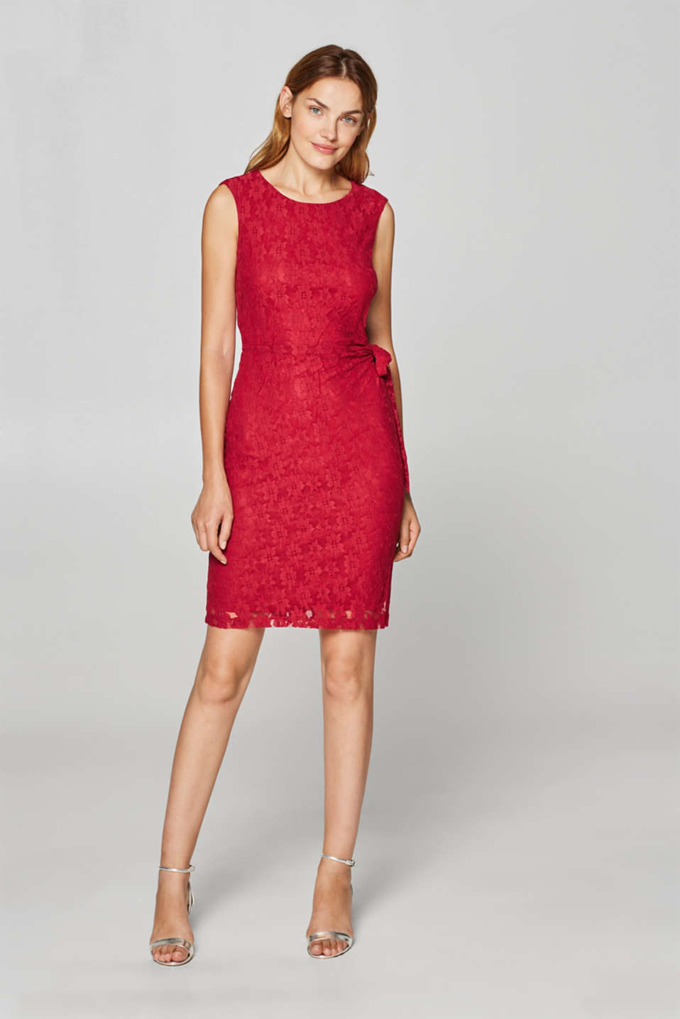 Esprit - Lace dress with back strap