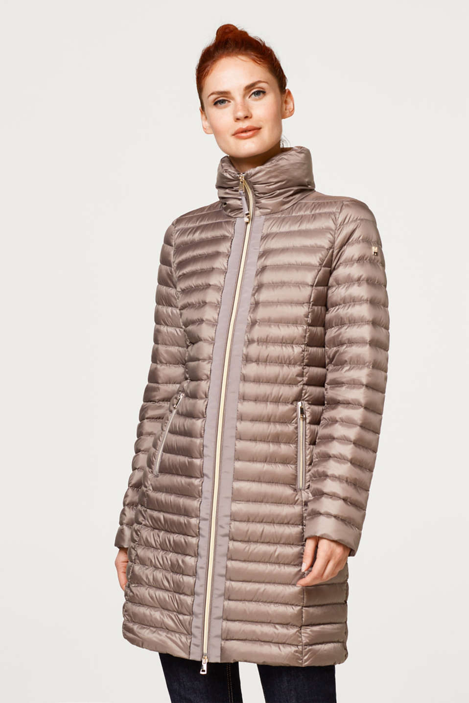 Esprit - Feather-light down coat