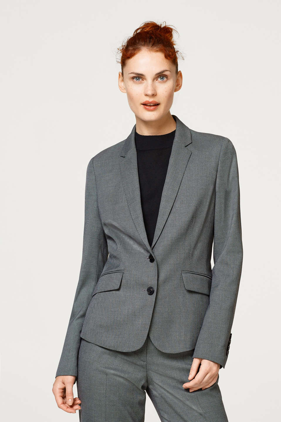 Esprit - PEPPER AND SALT Mix + Match Blazer