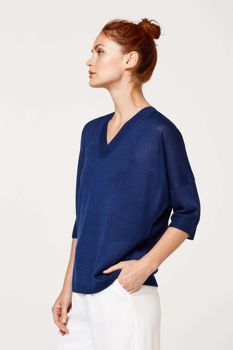 Esprit - Decorative back detail jumper