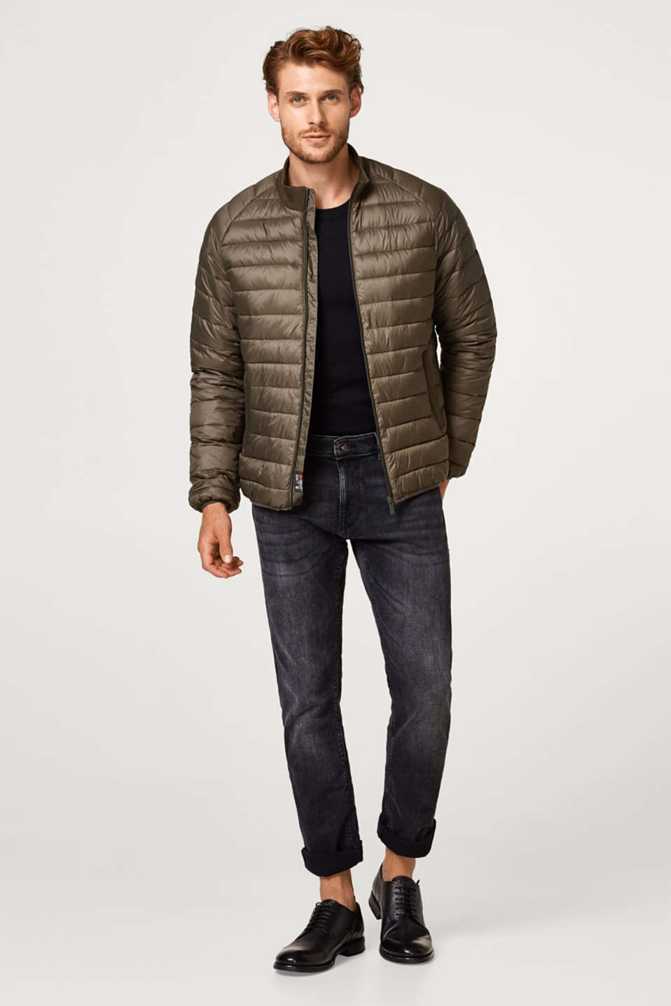 Quilted jacket with Thinsulate filling