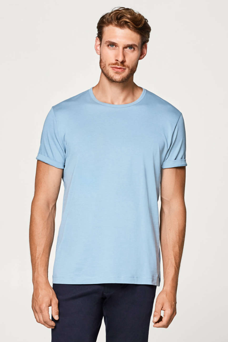 Esprit - Jersey T-shirt made of 100% pima cotton