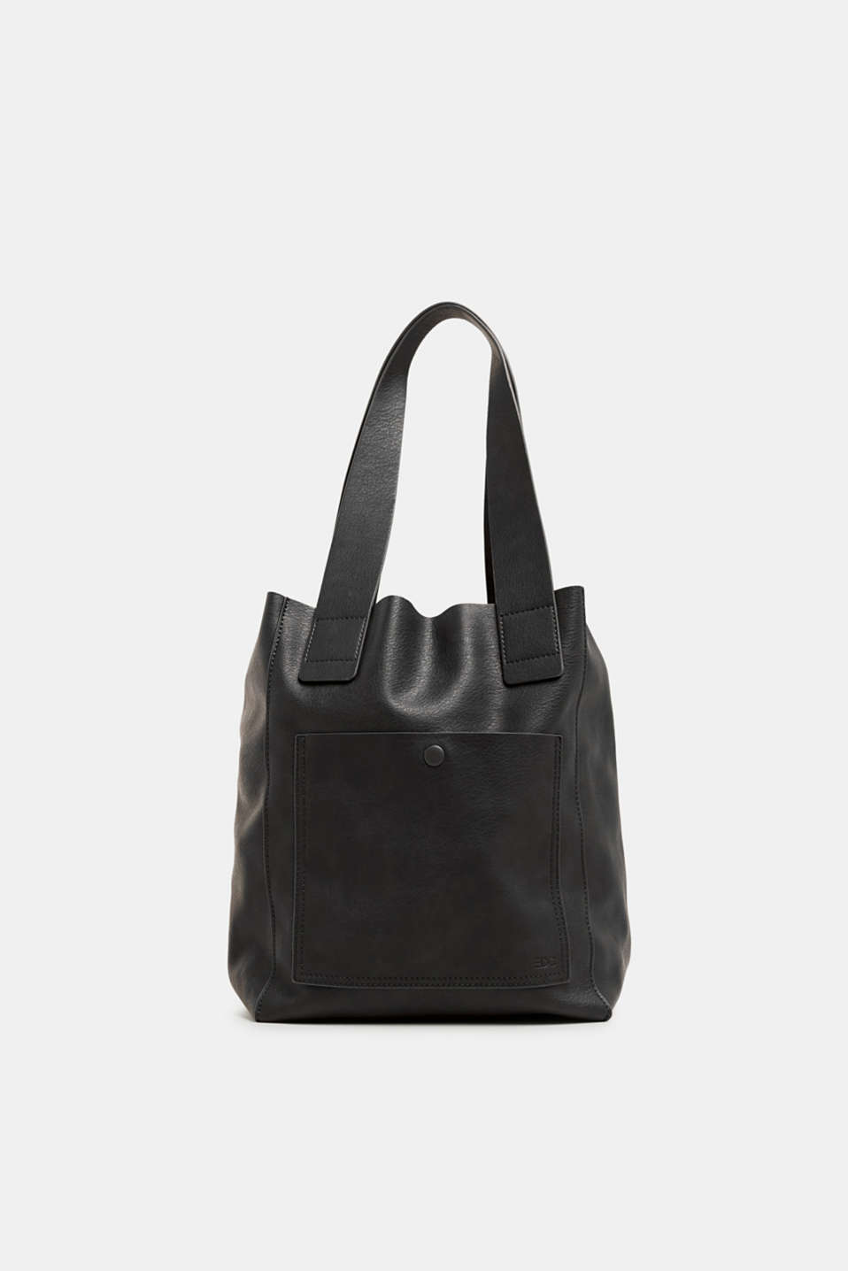 edc - Tote Bag in Leder-Optik