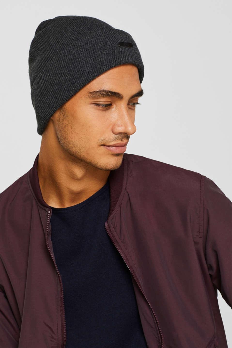 Hats/Caps, DARK GREY, detail image number 2