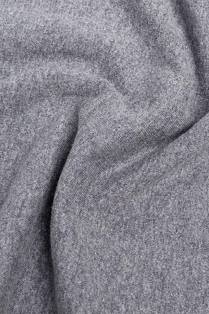 Loop-Schal aus Baumwoll-Mix, GREY, detail image number 1