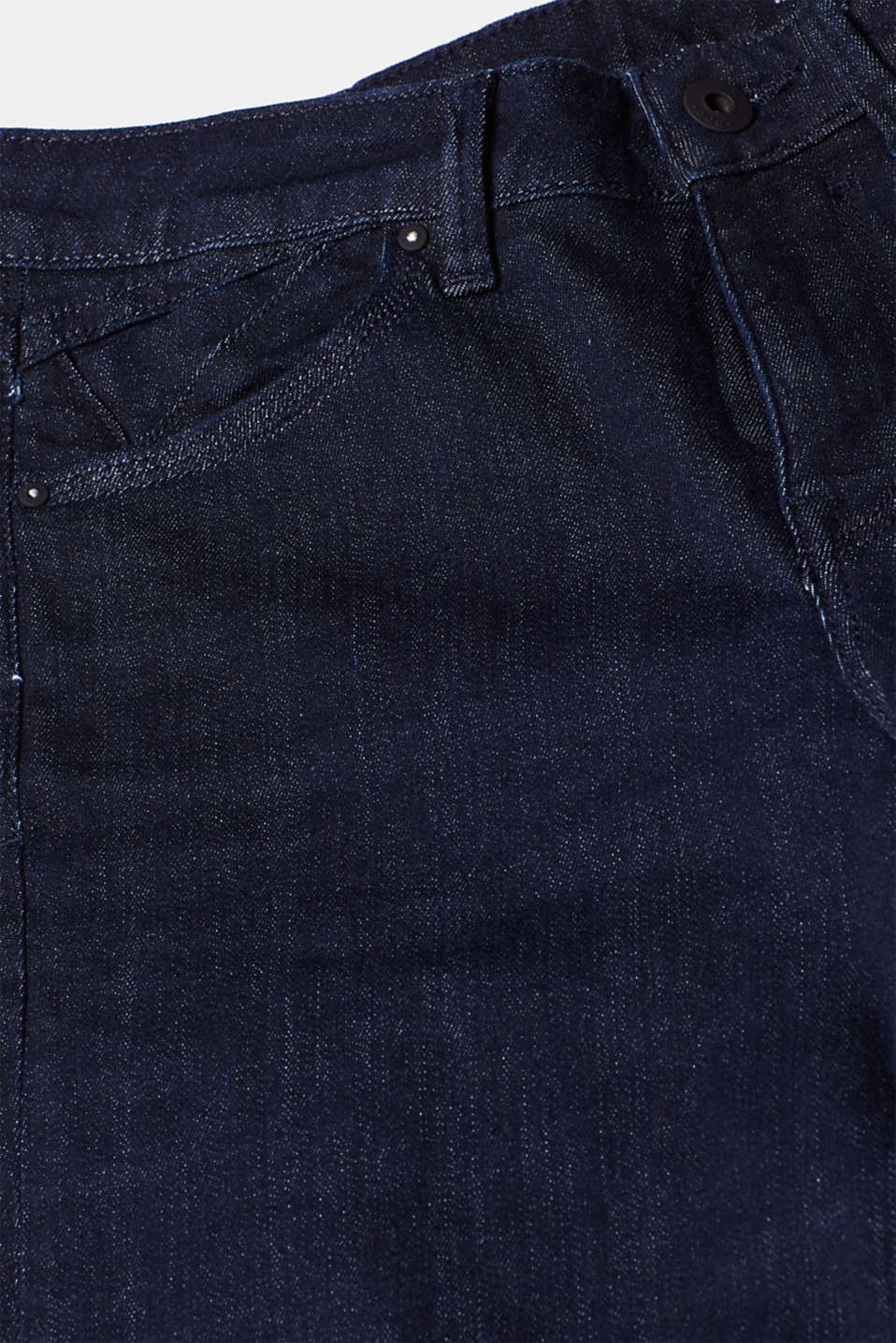 Trend wash stretch jeans, BLUE RINSE, detail image number 4