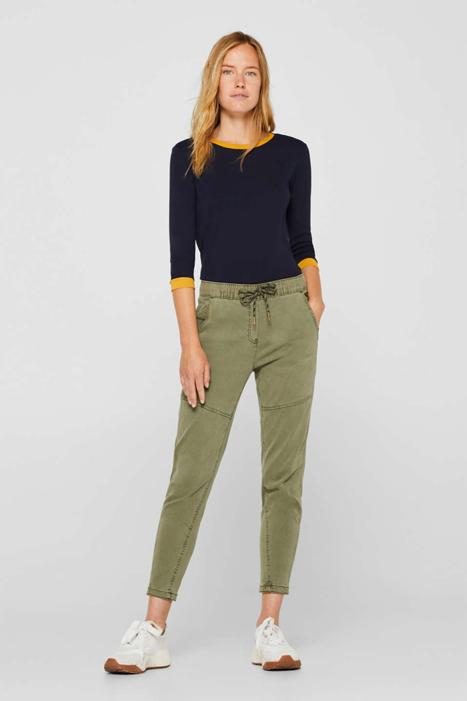 edc - Jogger-Pants mit Organic Cotton