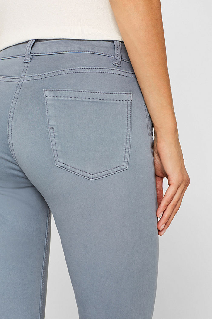 Trousers made of premium satin, BLUE LAVENDER, detail image number 2