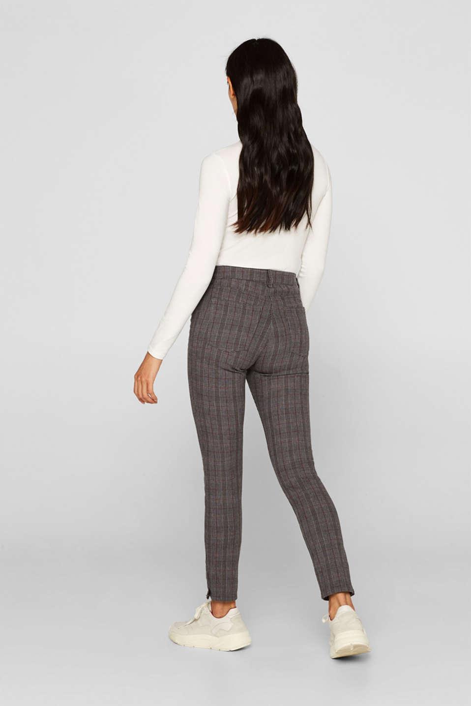 Pants woven, GUNMETAL, detail image number 3