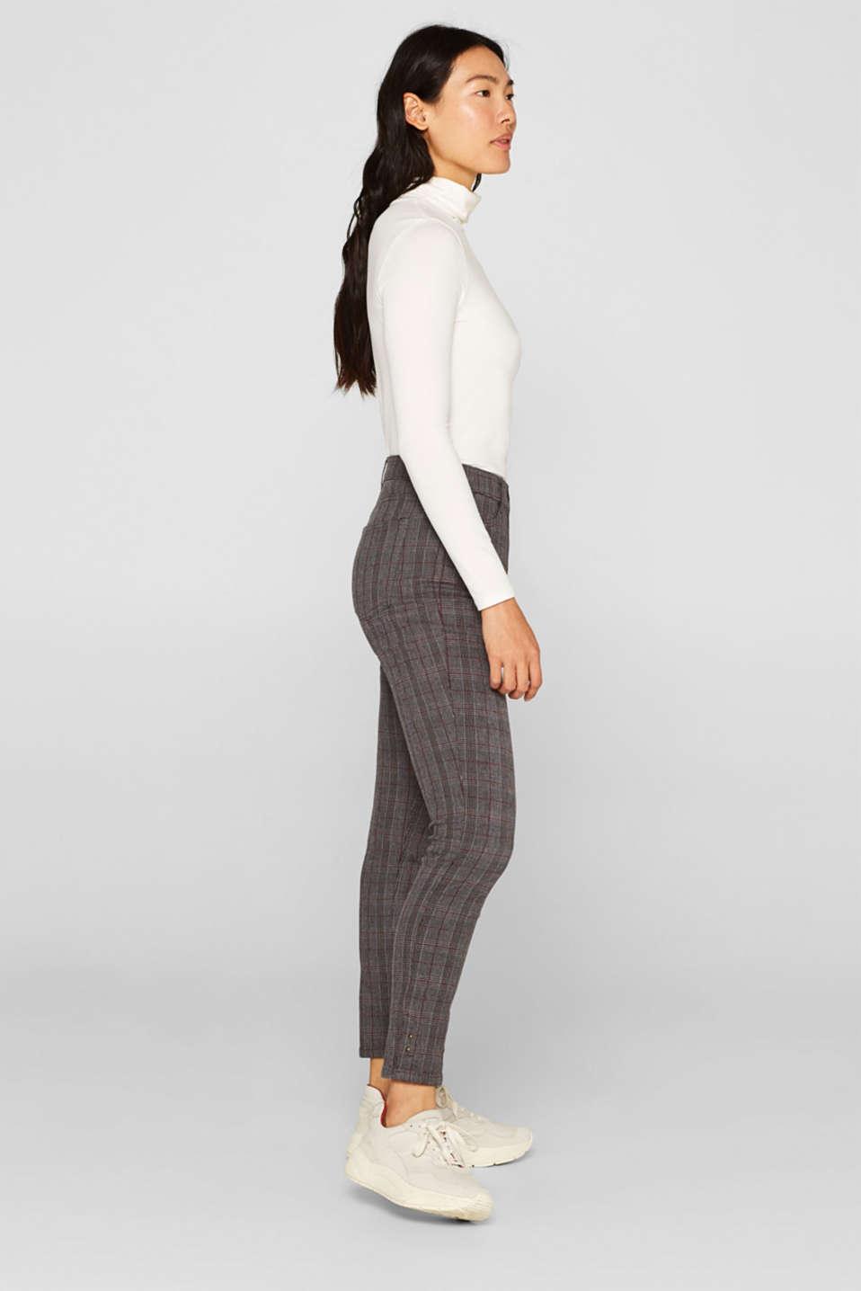 Pants woven, GUNMETAL, detail image number 5