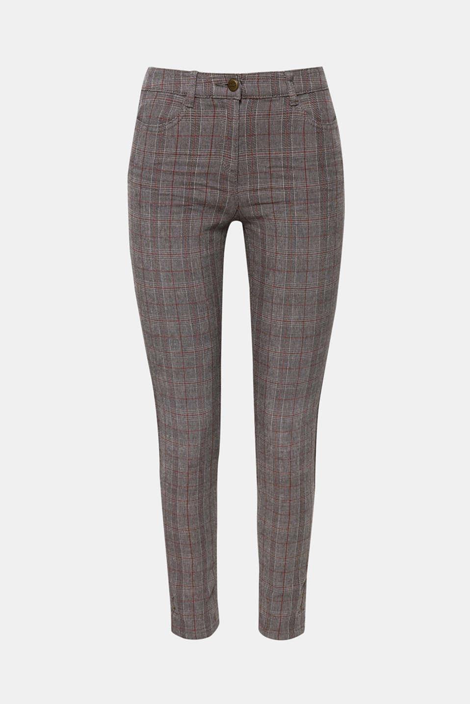 Pants woven, GUNMETAL, detail image number 8