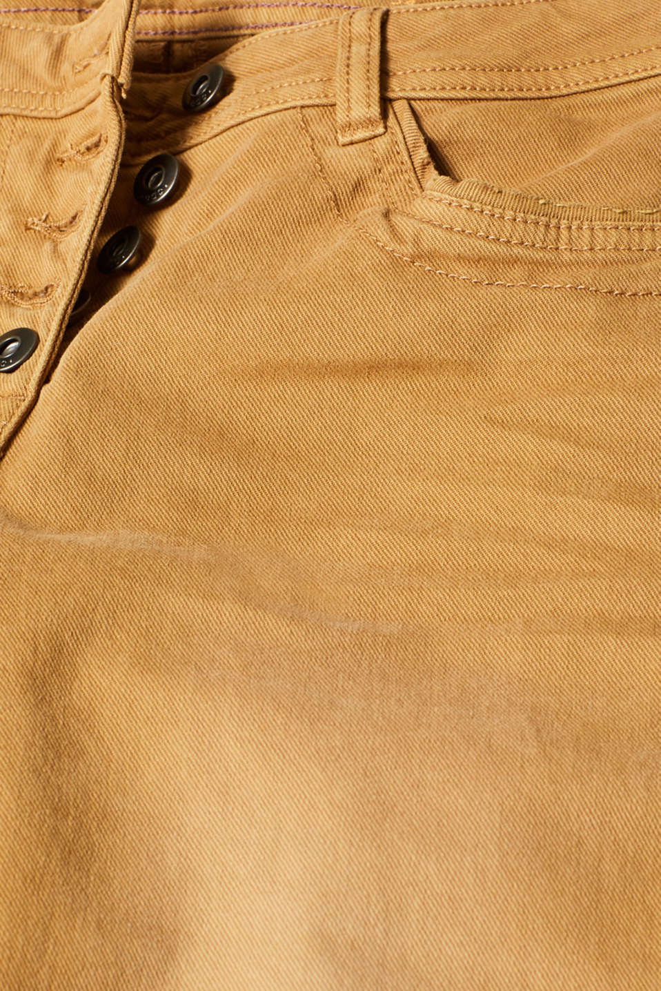 Pants woven, AMBER YELLOW, detail image number 4