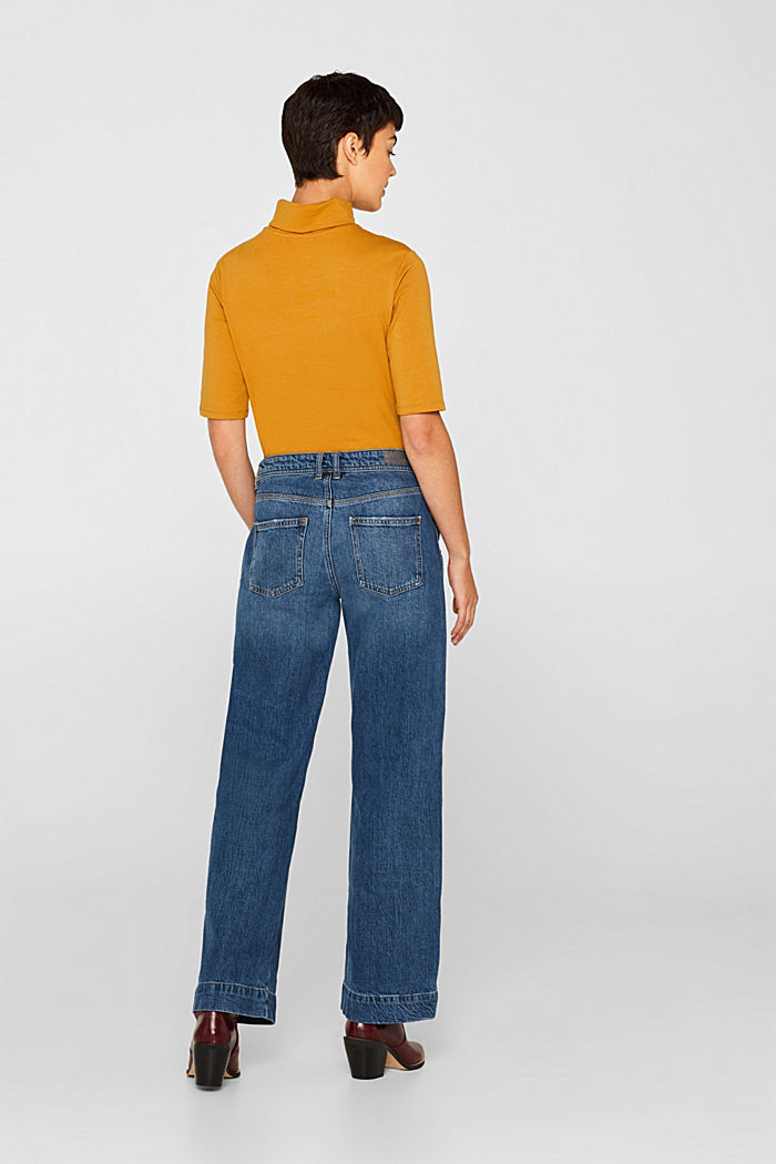 Stretch jeans with TENCEL™, BLUE MEDIUM WASHED, detail image number 3