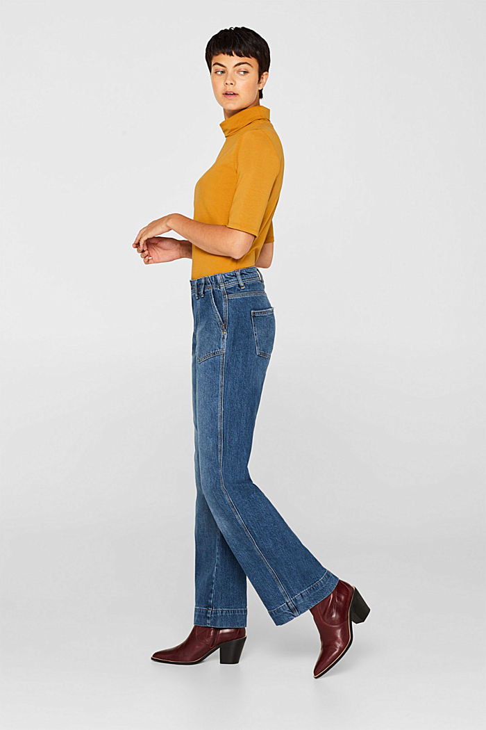 Stretch jeans with TENCEL™, BLUE MEDIUM WASHED, detail image number 5