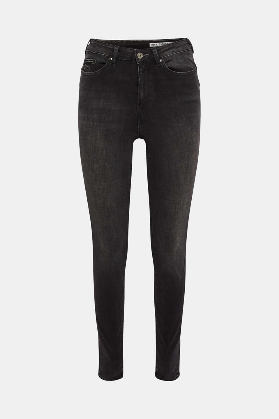 Pants denim, BLACK MEDIUM WASH, detail image number 8