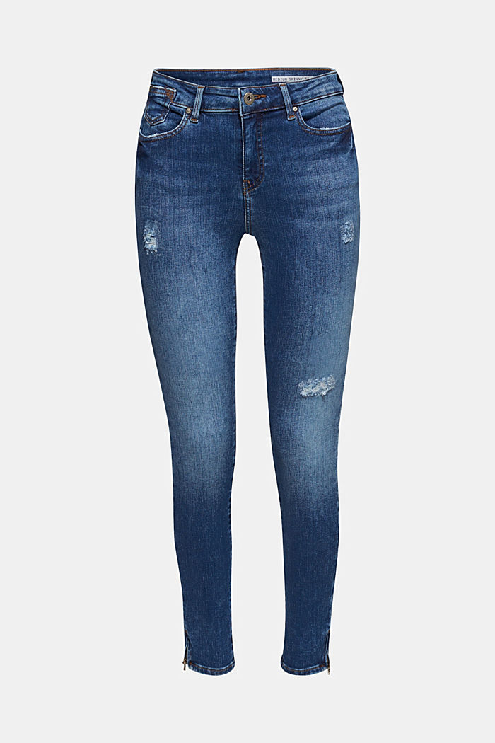 Knöchellange Stretch-Jeans