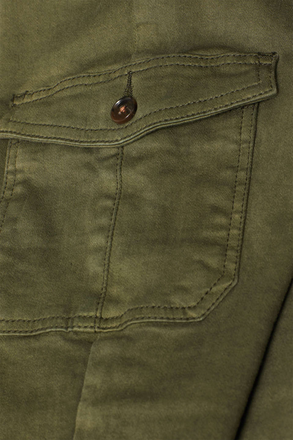 Pants woven, KHAKI GREEN, detail image number 4