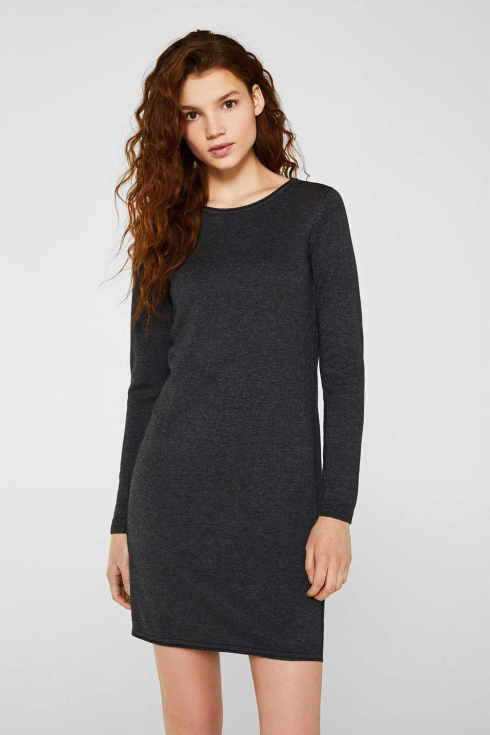 Dresses flat knitted, DARK GREY 5, detail image number 0