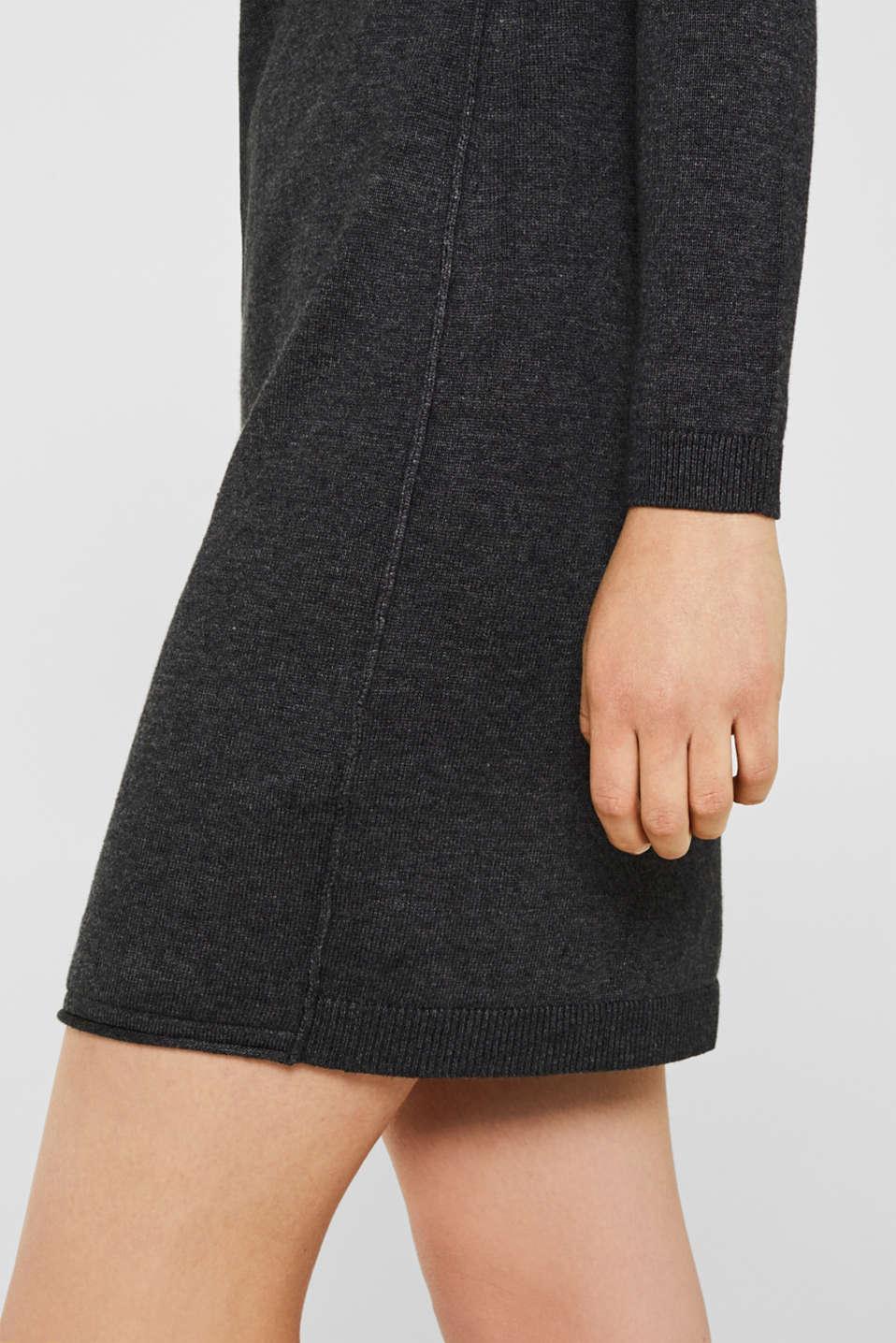 Dresses flat knitted, DARK GREY 5, detail image number 6