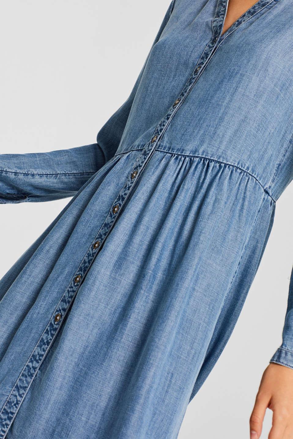 Dresses denim, BLUE MEDIUM WASH, detail image number 3