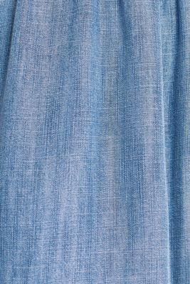 Made of TENCEL™: denim-effect dress