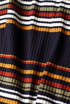 Knit dress with stripes, NAVY 2, detail