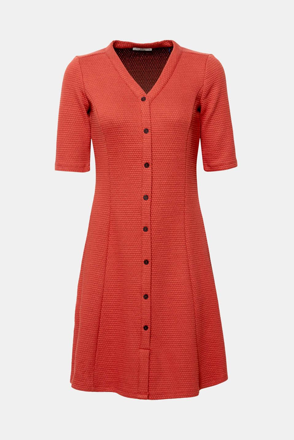 Dresses knitted, RUST ORANGE, detail image number 6