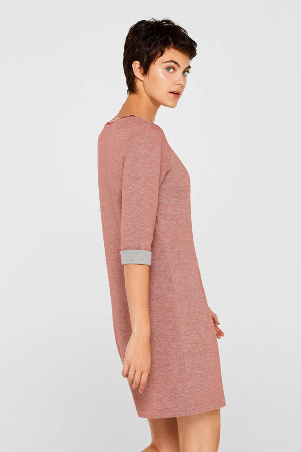 Dresses knitted, RUST ORANGE, detail image number 5