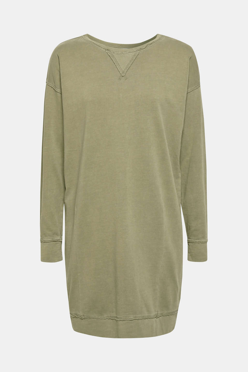 Dresses knitted, KHAKI GREEN, detail image number 6