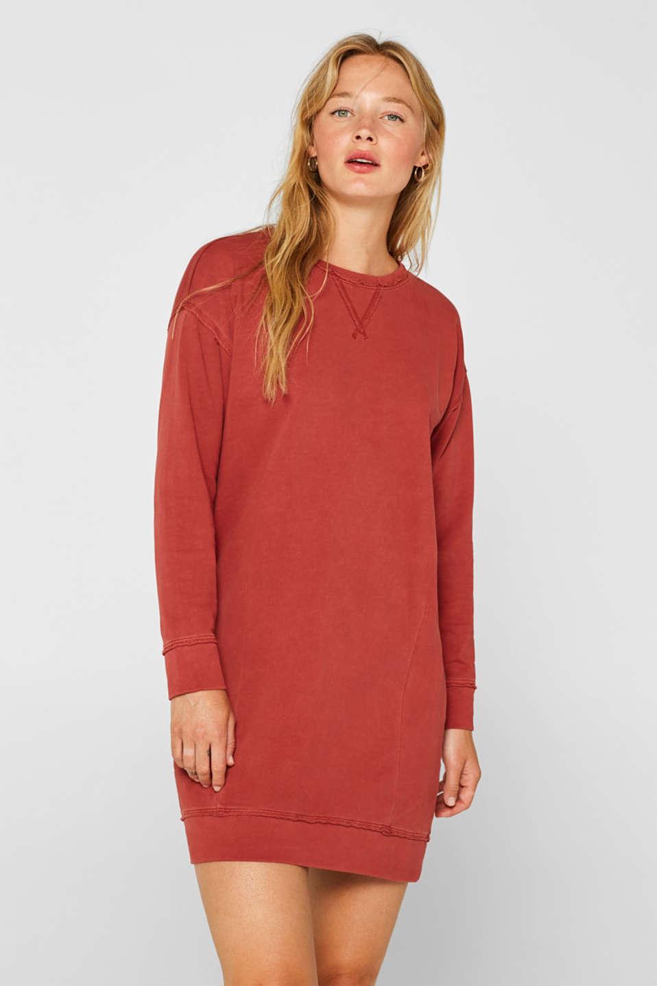 Dresses knitted, RUST ORANGE, detail image number 0