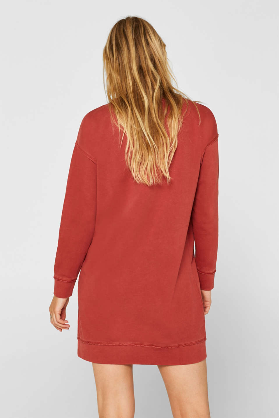 Dresses knitted, RUST ORANGE, detail image number 2