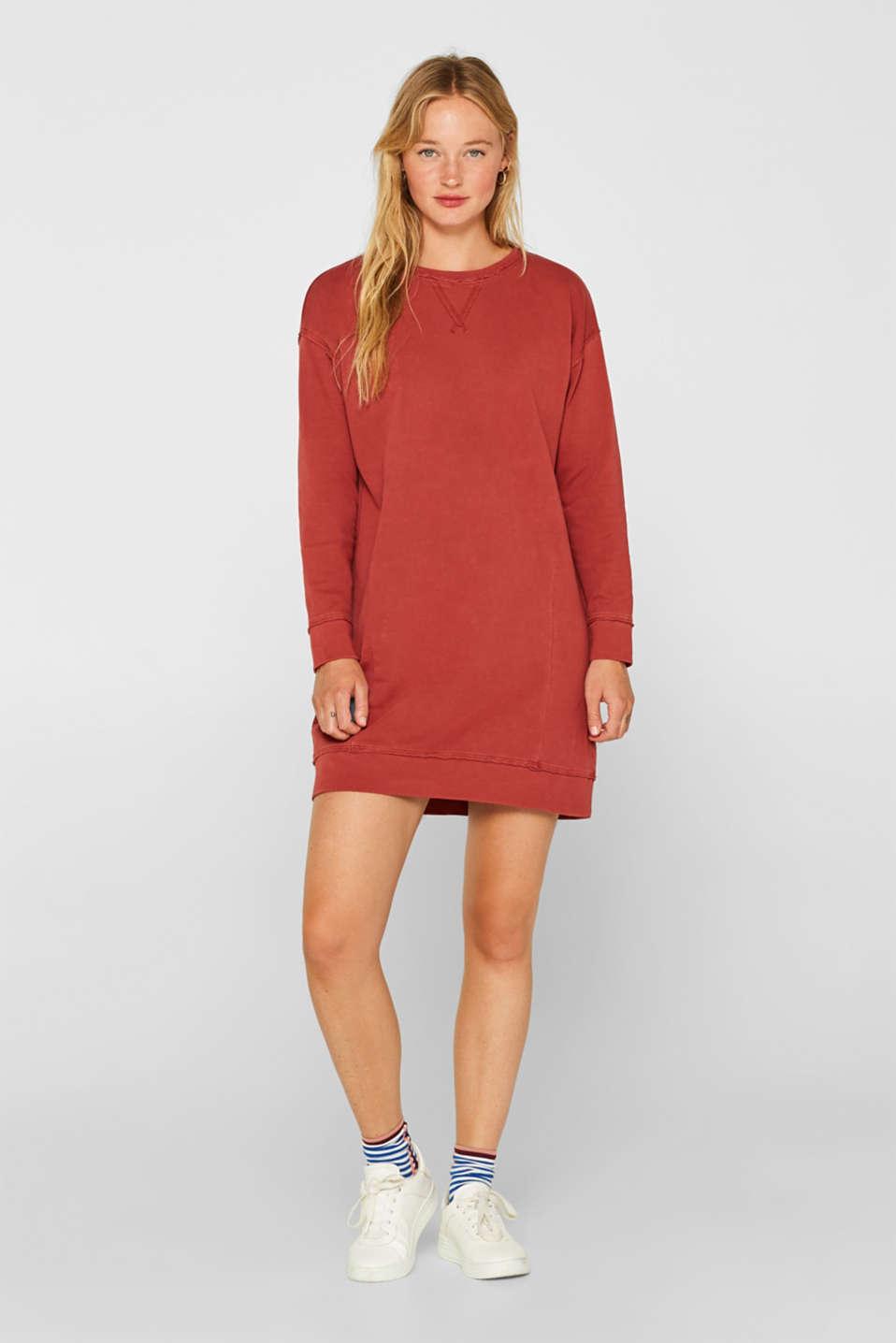 Dresses knitted, RUST ORANGE, detail image number 1