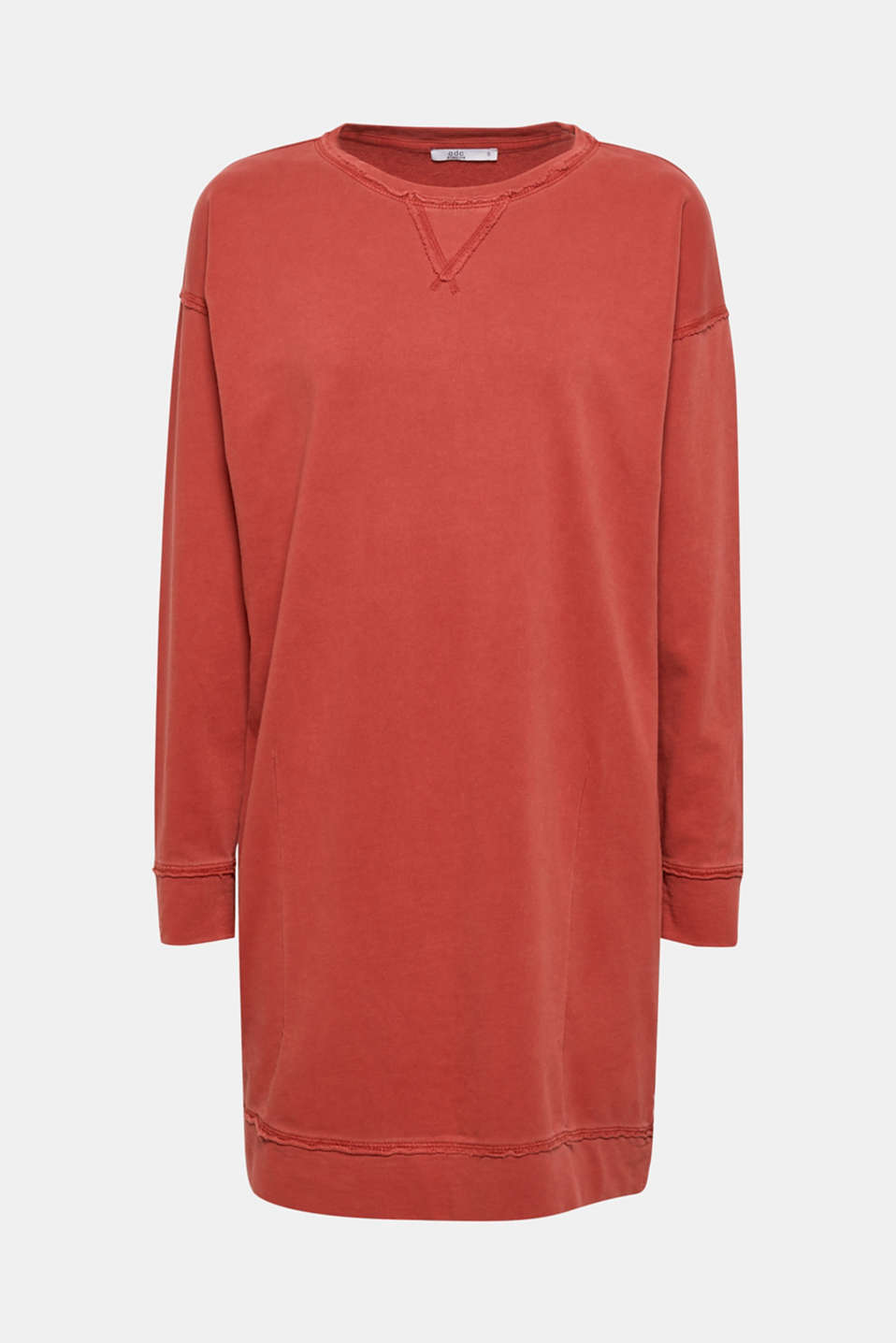 Dresses knitted, RUST ORANGE, detail image number 7