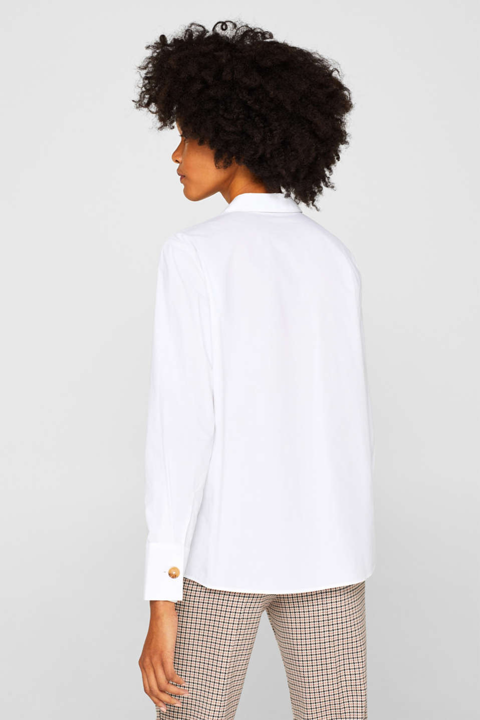 Blouses woven, WHITE, detail image number 3