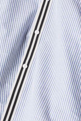 Striped shirt made of 100% cotton, LIGHT BLUE, detail