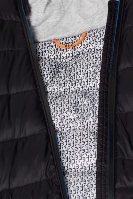 Hooded quilted coat with 3M® Thinsulate filling