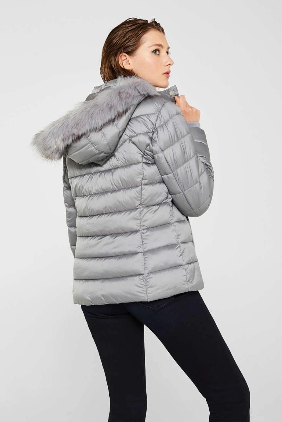Jackets outdoor woven, MEDIUM GREY, detail image number 3