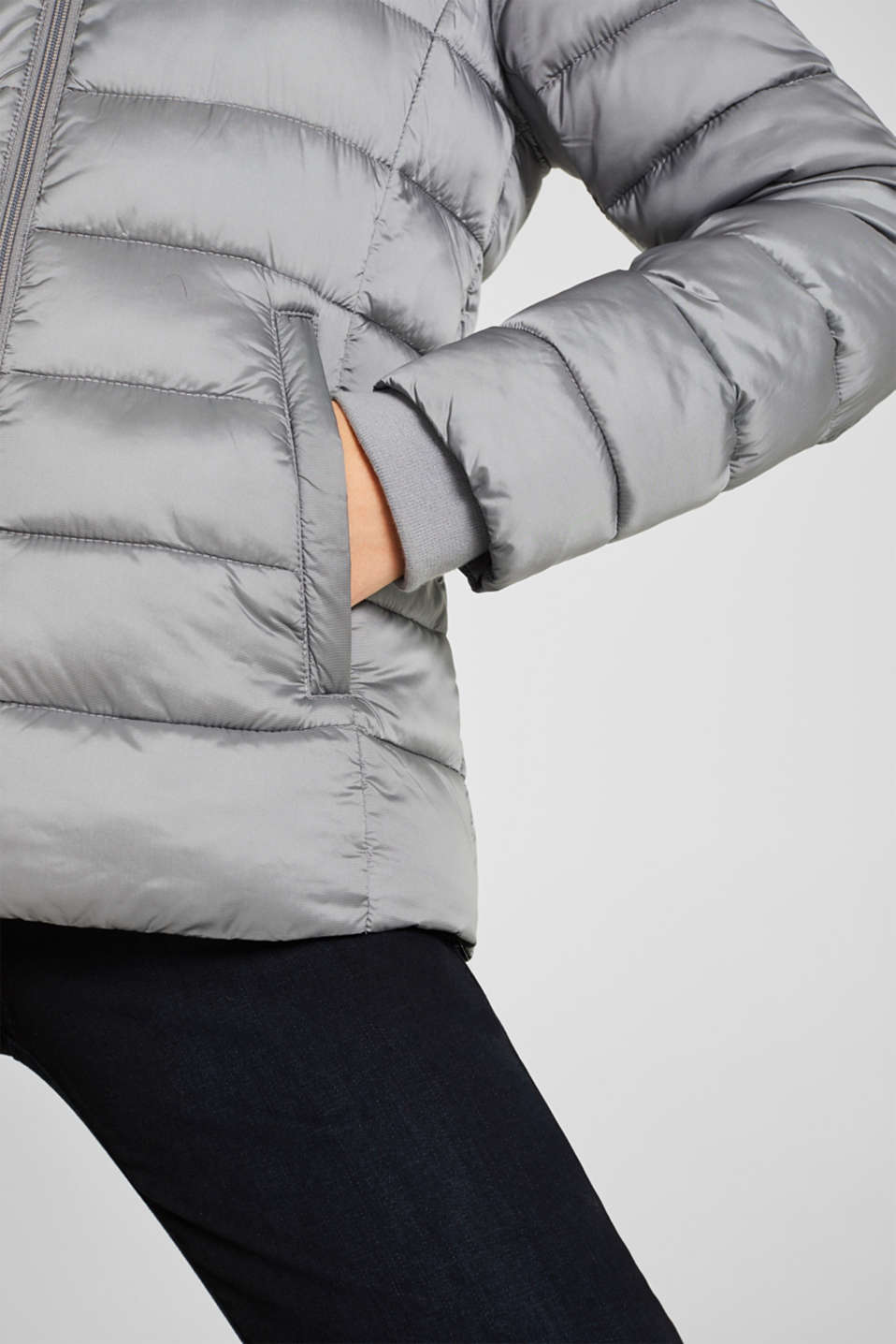 Jackets outdoor woven, MEDIUM GREY, detail image number 5