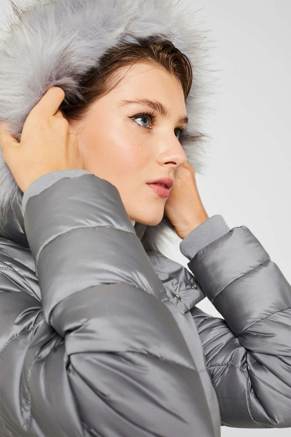 Jackets outdoor woven, MEDIUM GREY, detail image number 7