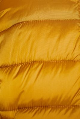 Hooded quilted jacket with 3M™ Thinsulate™ filling, AMBER YELLOW, detail