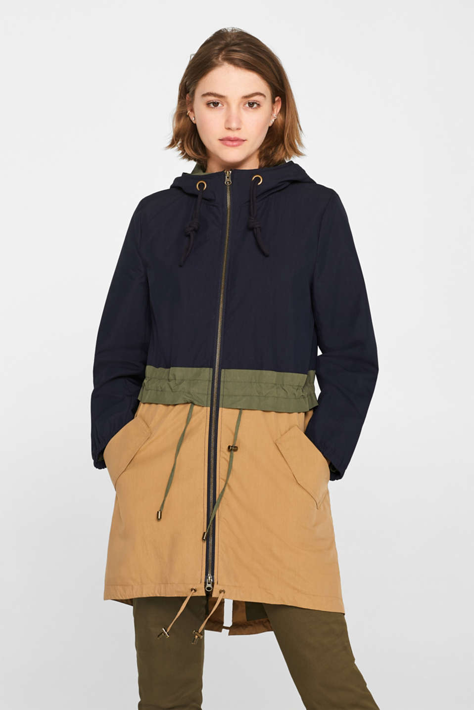 edc - Parka made of blended cotton