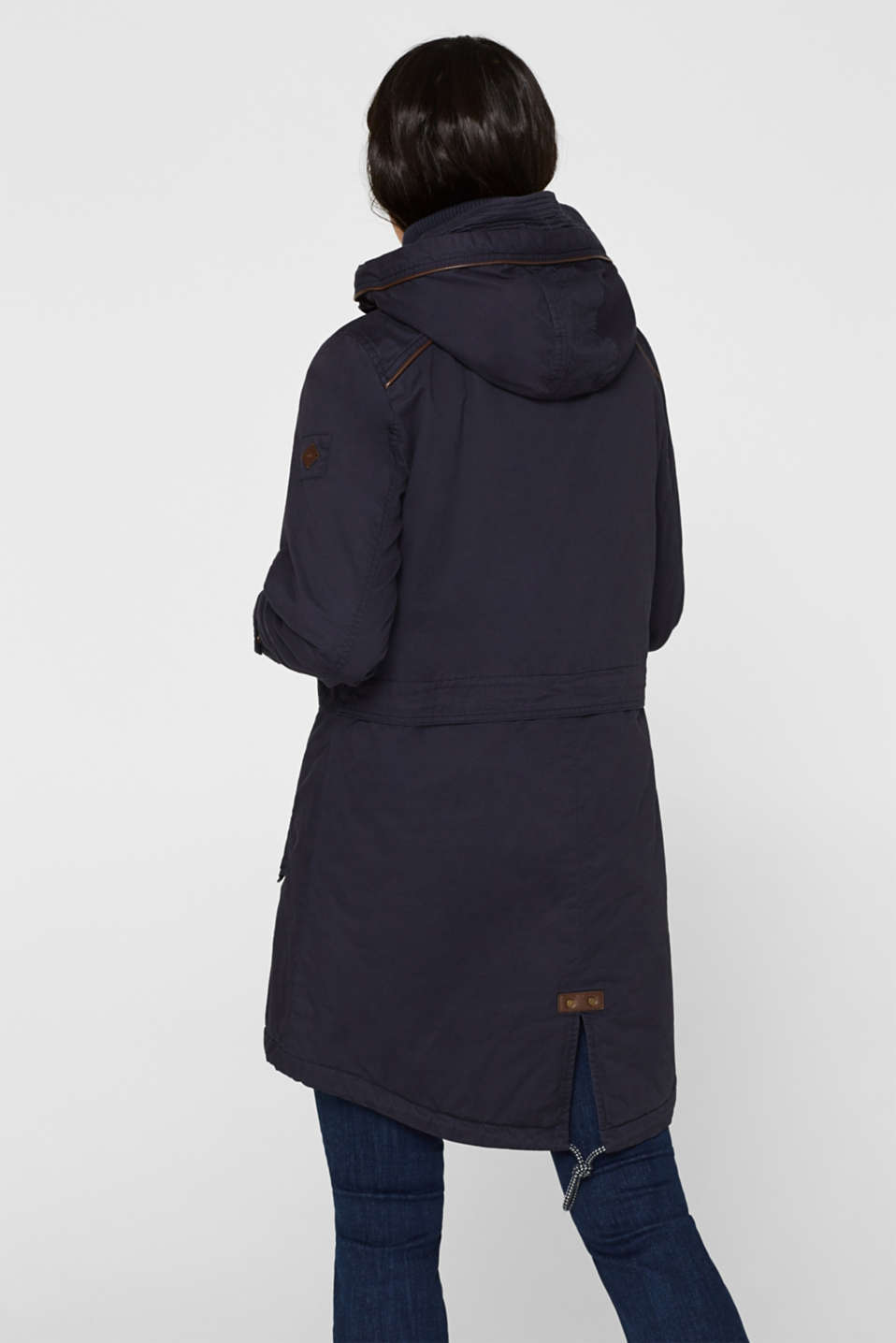 Coats woven, NAVY, detail image number 3