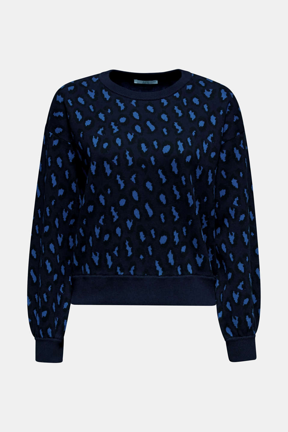 Sweaters, BRIGHT BLUE, detail image number 6