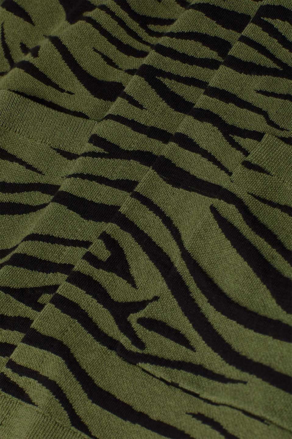 Sweaters cardigan, KHAKI GREEN 5, detail image number 4