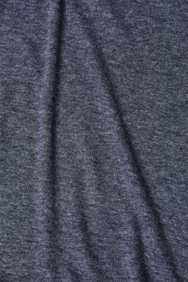 T-shirt with gathered sleeves, NAVY 5, detail