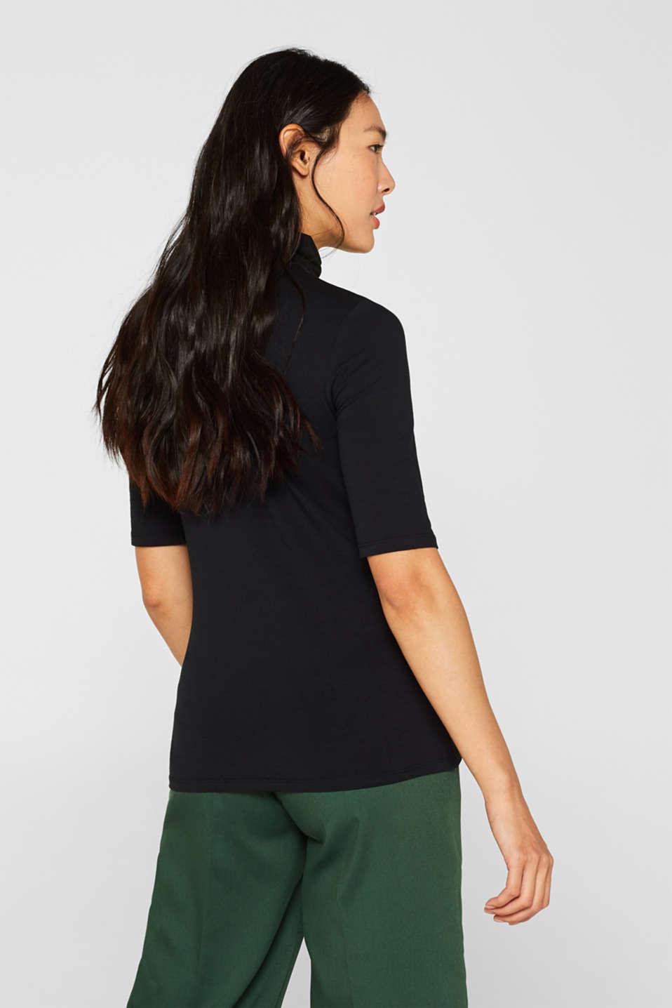 T-Shirts, BLACK, detail image number 3