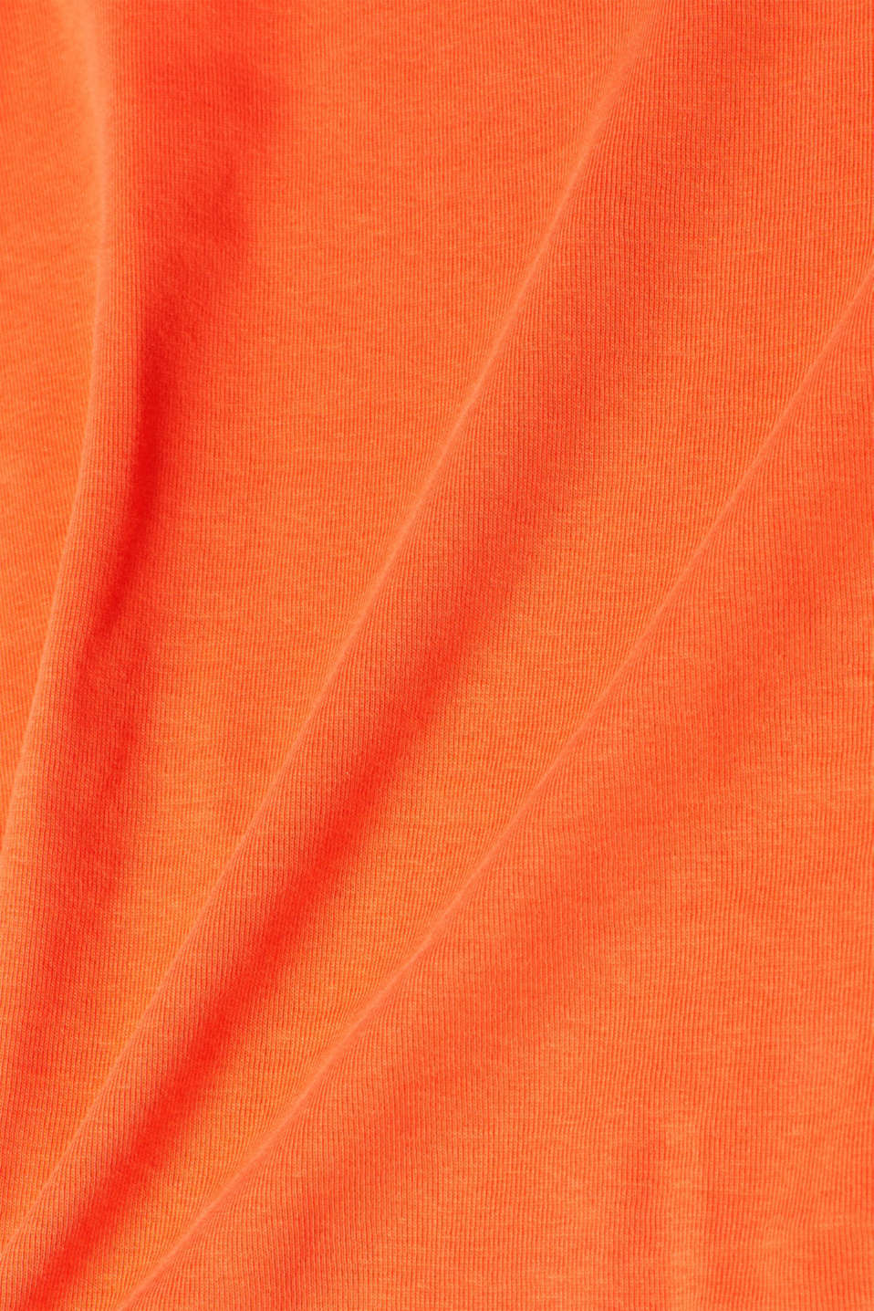 T-Shirts, BRIGHT ORANGE, detail image number 4