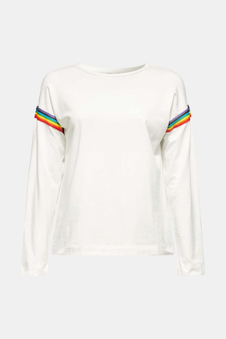 T-Shirts, WHITE, detail image number 7