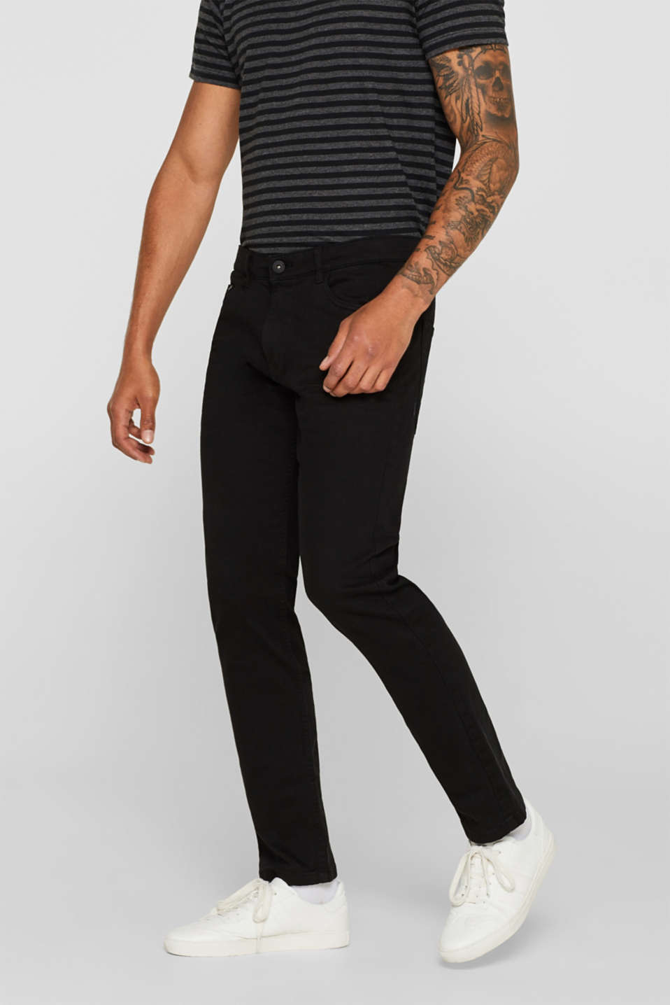 edc - Stretch-Jeans aus Colored Denim