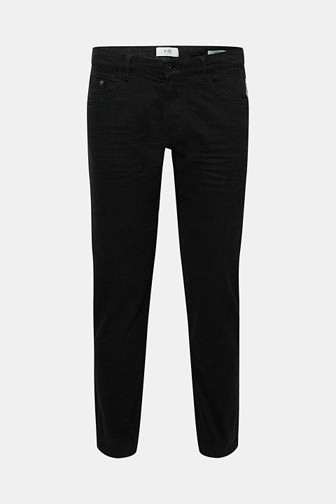Stretch jeans in coloured denim